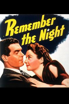 Watch->> Remember the Night 1940 Full - Movie Online