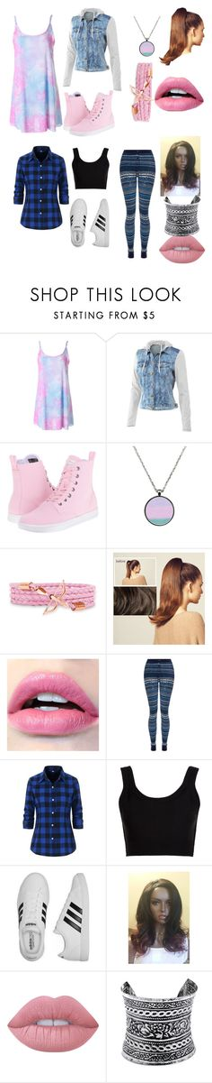 """""""School Time...Almost"""" by aliyahlea ❤ liked on Polyvore featuring Mur Mur, Dr. Martens, Hershesons, Splendid, Calvin Klein Collection, adidas, Lime Crime and LULUS"""