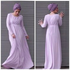 Lila maxi dress- Verona collection for modest hijab http://www.justtrendygirls.com/verona-collection-for-modest-hijab/