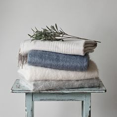 Interior Styling for Brissi Mohair Throw, Interior Styling, Interior Design, Interior Inspiration, Nook, Home Accessories, Blue Grey, Piano, Cream