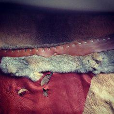 Rabbit Spirit  Handmade gypsy tribal leather by thegypsiescaravan, $159.00