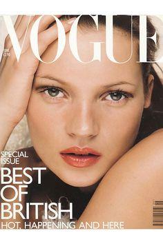 Kate Moss British Vogue