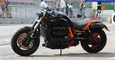 Image result for triumph rocket 3 carpenter racing for sale