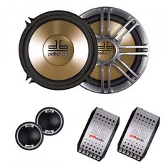 """Polk 5.25"""" Component System 200 Watts max  Price: & FREE Shipping 3 Year Warranty on Android units!!! #androidauto"""