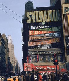 Times Square 1952