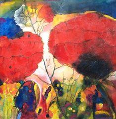 papaver by mr marian hergouth Art Ideas, Paintings, Oil, Abstract, Artwork, Artist, Sweetie Belle, Flowers, Painting Flowers
