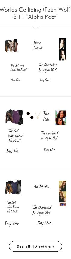 """Worlds Colliding (Teen Wolf) 3.11 ""Alpha Pact"""" by mysticfalls1997 ❤ liked on Polyvore featuring River Island, Chanel, Fendi, J Brand, maurices, H&M, yeswalker, Janna Conner Designs, Blumarine and Balmain"