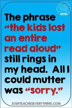 The read aloud lesso