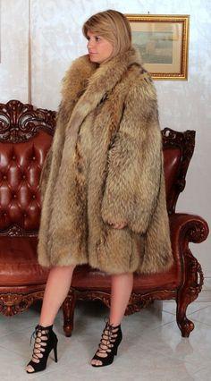 Kleidung Pelze WaschbÄr Pelzmantel Pelz Raccoon Fur Coat Mantel Fourrure De Raton Laveur M-l