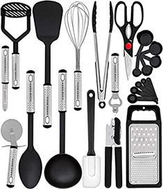 Kitchen tools – Page 27 – welcome tools set Home Hero Kitchen Utensil Set – 23 Nylon Cooking Utensils – Kitchen Utensils with Spatula – Kitchen Gadgets Cookware Set – Best Kitchen Tool Set – welcome Cooking Utensils Set, Kitchen Utensil Set, Kitchen Dining, Kitchen Store, Kitchen Items, Kitchen Products, Beech Kitchen, Pie Kitchen, Kitchen Spatula