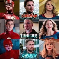 An Awesome And Unexpected Beginning. Excellent Cast with all exciting story line! That's how you should start any. Supergirl 2015, Supergirl And Flash, Dc Tv Shows, Arrow Oliver, Black Lightning, Dc Comics Characters, Comic Movies, Comics Universe, Batwoman