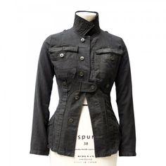 Jacke Pure black, front