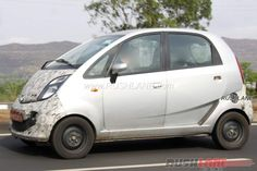 Purported electric #Tata #Nano spied testing in Maharashtra