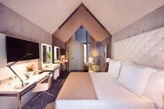 M Social hotel by Philippe Starck Singapore