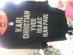 Designers Fabulous shirt!!!! www.merlenormanofherrin.com