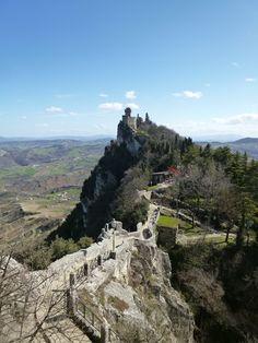 Da 「Rocca Guaita」 a 「La Cesta」