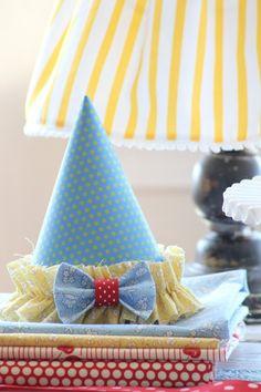 DIY birthday hats