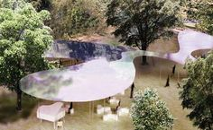 The Serpentine Gallery Pavilion 2009 has been designed by Kazuyo Sejima and Ryue Nishizawa of leading Japanese architecture practice SANAA. Frank Gehry, Zaha Hadid, Hyde Park, Serpentine Gallery Pavilion, Sanaa, Ryue Nishizawa, Arch Model, Oscar Niemeyer, Sou Fujimoto