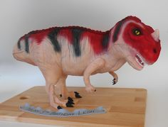 3D Jurassic World Dinosaur Birthday Cake - by Nada's Cakes Canberra