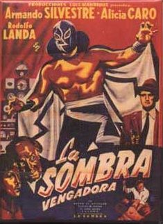 Vintage Mexican Movie Poster Magnet
