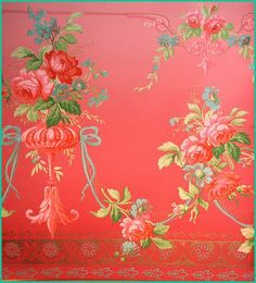 vintage wallpaper-- I like old floral patterns. Flower Phone Wallpaper, Print Wallpaper, Fabric Wallpaper, Pattern Wallpaper, Decoupage Paper, Vintage Love, Floral Fabric, Chinoiserie, Groomsmen