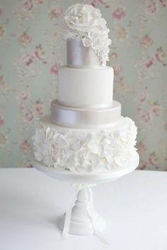 Ruffles Wedding Cake.