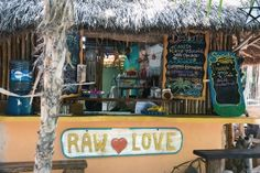 Vegan Food in Tulum: Raw Love Tulum Cafe, Tulum, Mexico / The Healthy Hour - The Healthy Hour