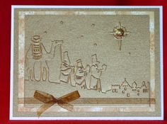 Wisemen in Bethleham Handmade Christmas by ProudMommyPapercraft, $2.00