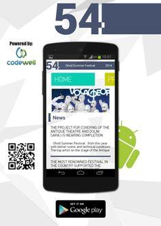 OHRID SUMMER FESTIVAL - ФЕСТИВАЛ ОХРИДСКО ЛЕТО with new mobile application for Android.  https://play.google.com/store/apps/details?id=com.codewell.unltd.mk.ohridskoleto   #Ohrid #summer #festival #mobile #app #Android