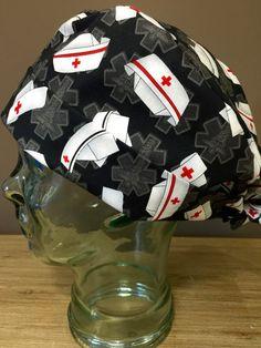 Model covering Panda origami Caps  Block Calot  Medical Charlotte