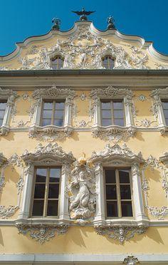 Würzburg Falkenhaus Rokoko- Fassade | Flickr - Photo Sharing!