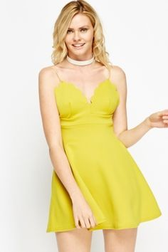 Open Back Scallop Dress Affordable Dresses, Cheap Dresses, Scallop Dress, Latest Dress, Dress Outfits, Fashion Online, Shop Now, Brand New, Clothes