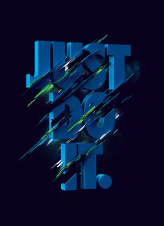 Nike - Spring/Summer by Luke Choice Nike Tights, Nike Boots, Just Do It Wallpapers, Nike Wallpaper Iphone, Nike Poster, Nike Inspiration, Graffiti Wallpaper, 3d Typography, Typography Served