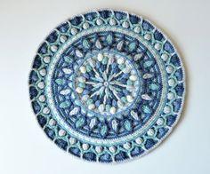 PATTERN  Overlay Crochet Mandala  Dandelion by LillaBjornCrochet