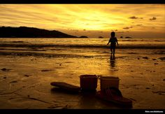 Entardecer, Mar, paisagens - 097