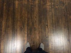 How I stained my maple floors dark. (SPOILER: GEL STAIN)