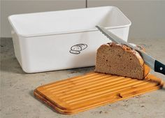 Pojemnik na chleb Kesper - biały - Pojemniki na chleb - Kuchnia - Witeks