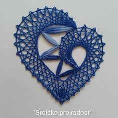 Crochet Wool, Bobbin Lace, Patterns, Knitting, Cotton, Hand Art, Lace Heart, Projects, Block Prints