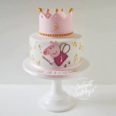 Peppa Pig Cake Ideas : Fairy Cake