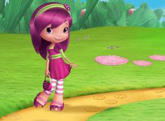 Strawberry Shortcake is a licensed character owned by American Greetings, originally used in greeting cards and expanded to include dolls, posters, and other products. Raspberry Hair, Raspberry Torte, Raspberry Color, Strawberry Shortcake Characters, Strawberry Shortcake Party, Magenta Hair, Disney Princess Pictures, American Greetings, Sporty Girls