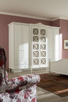 "History country bedroom suite with ""home spring . - Home Decor Small Room Interior, Room Interior Design, Master Bedroom Closet, Girls Bedroom, Bedroom Colors, Home Decor Bedroom, Modern Bedroom Design, White Furniture, Decoration"