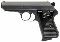 The Czech CZ-50, a .32 caliber police pistol made between 1950 and 1970.  It was the first handgun I ever owned, and I'm sorry I ever sold it.