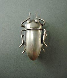 Small Beetle Pin