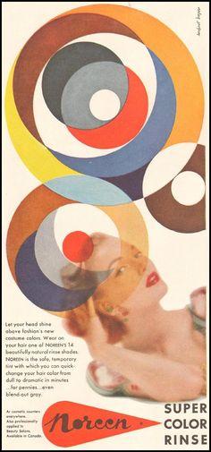 ¤ Herbert Bayer (Bauhaus  master) for Noreen. 1954