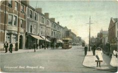 Commercial Road Newport Mon, Wrench Series Postcard
