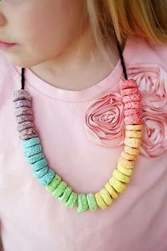 St. Patrick's Day Snack Necklaces