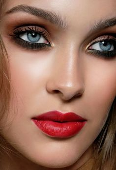 Make up, eyes Lovely Eyes, Beautiful Girl Image, Beautiful Lips, Gorgeous Lady, Girl Face, Woman Face, Interesting Faces, Pretty Face, Beauty Hacks