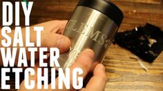 DIY - HOW TO MAKE ETCHED STAINLESS STEEL YETI REC PRO OZARK TRAIL