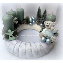 Adventi koszorú Christmas 2019, Christmas Wreaths, Merry Christmas, Xmas, Advent, Hanukkah, Holiday Decor, Diy, Christmas