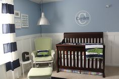 Sugar and Spice...: Baby Boy Nursery Reveal